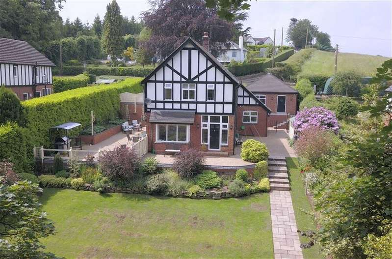 4 Bedrooms Detached House for sale in Chase Lane, Tittensor
