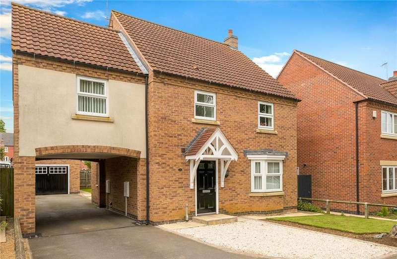 4 Bedrooms Detached House for sale in Lothian Way, Greylees, Sleaford, Lincolnshire, NG34