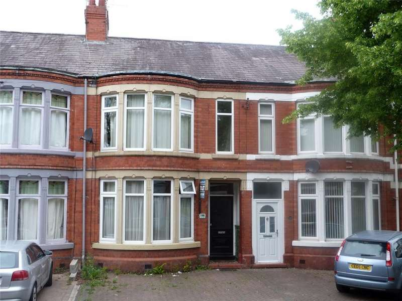 5 Bedrooms Terraced House for sale in Ruskin Road, Crewe, Cheshire, CW2