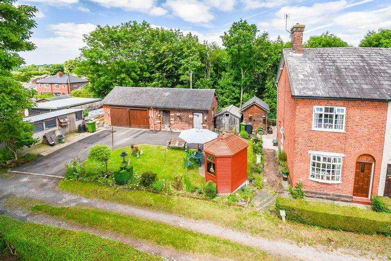 3 Bedrooms Semi Detached House for sale in Canal Road, Bunts Lane, Congleton