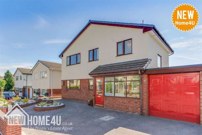 4 Bedrooms Link Detached House for sale in Lincoln Road, Ewloe, Deeside