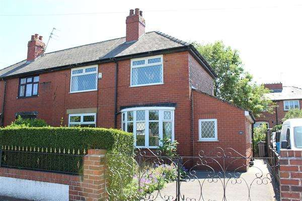 3 Bedrooms Semi Detached House for sale in Hollinwood Avenue, Manchester