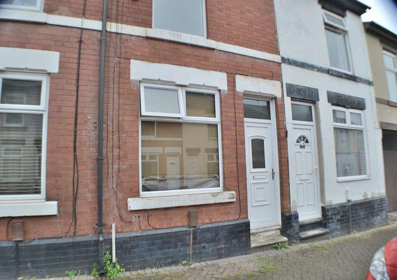 2 Bedrooms Terraced House for sale in Pittar Street, Derby DE22