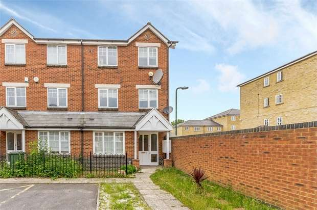 4 Bedrooms End Of Terrace House for sale in Elizabeth Fry Place, London