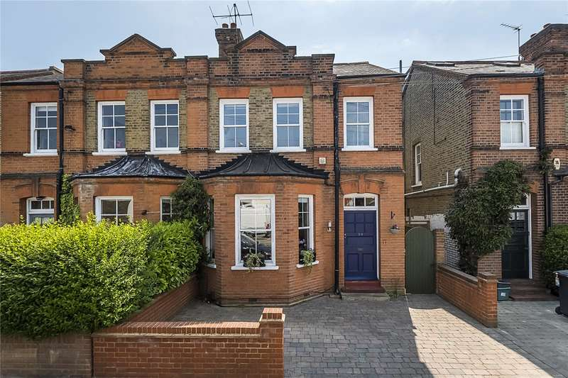 5 Bedrooms Semi Detached House for sale in Grove Lane, Kingston upon Thames, KT1