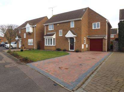 4 Bedrooms Detached House for sale in Lincoln Crescent, Biggleswade, Bedfordshire