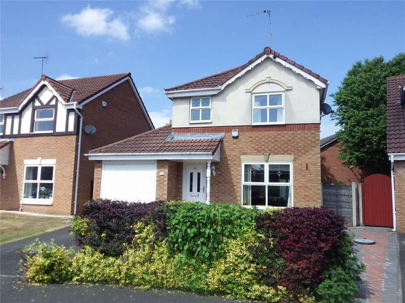 3 Bedrooms Detached House for sale in Hurst Hill Crescent, Ashton-under-Lyne, Greater Manchester, OL6