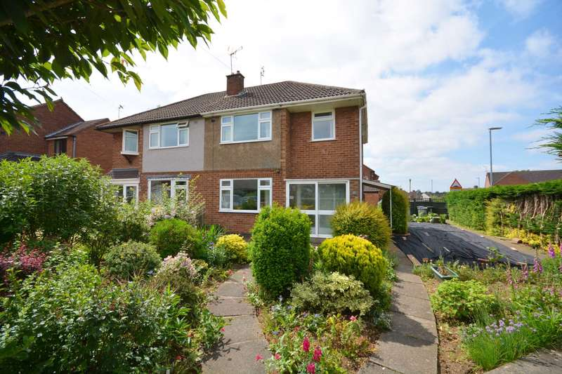 3 Bedrooms Semi Detached House for sale in Elmhirst Road, Lutterworth