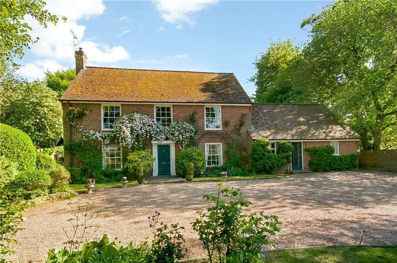 5 Bedrooms Detached House for sale in Easton, Winchester, Hampshire, SO21
