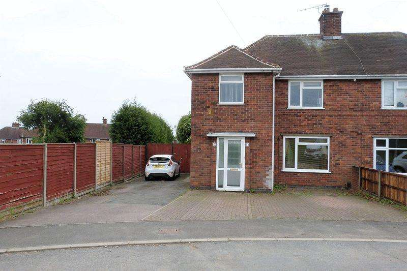 3 Bedrooms Semi Detached House for sale in The Close Anstey