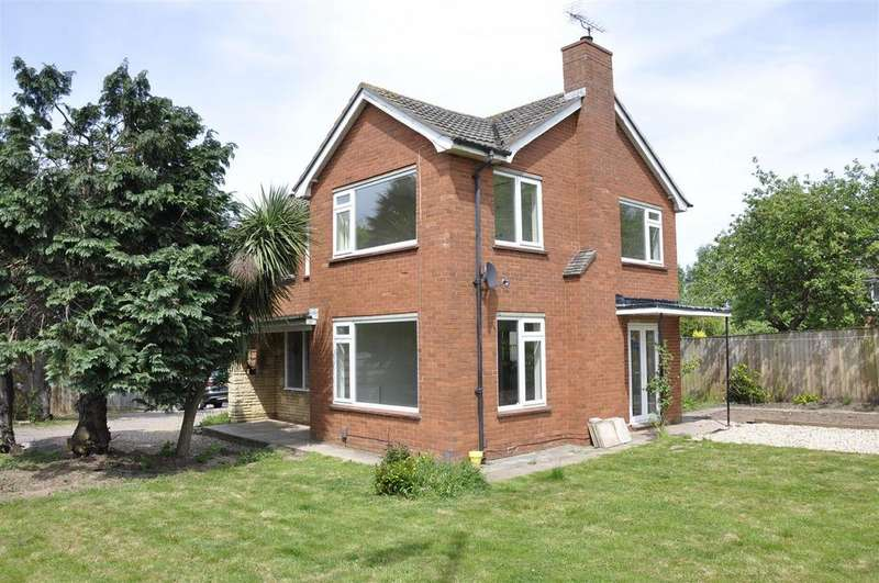 3 Bedrooms Detached House for sale in Middlemoor, Exeter