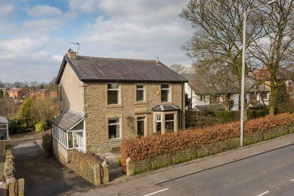 4 Bedrooms Detached House for sale in 33 Whalley Road, Wilpshire, Blackburn BB1