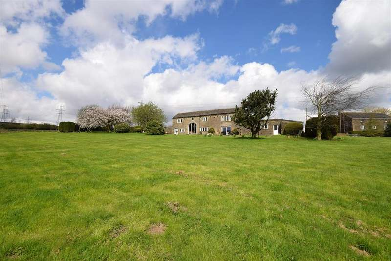 4 Bedrooms Detached House for sale in Hutch Green Farm, Long Causeway, Rishworth, HX6 4RF