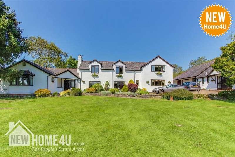4 Bedrooms Detached House for sale in Bryn Hirdd, Llanarmon-Yn-Ial, Mold