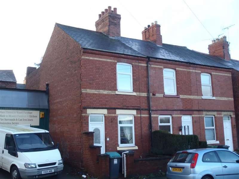 2 Bedrooms End Of Terrace House for sale in Watery Road, Wrexham