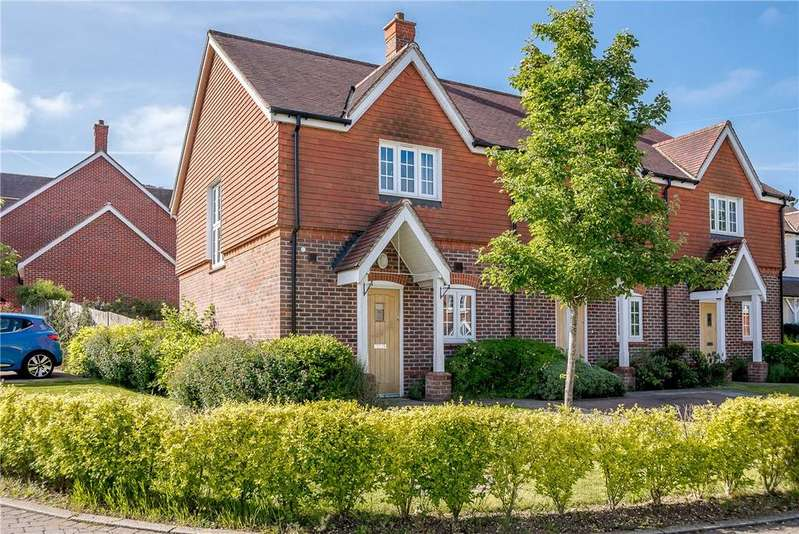 2 Bedrooms End Of Terrace House for sale in Cobbett's View, Burghclere, Newbury, Hampshire, RG20