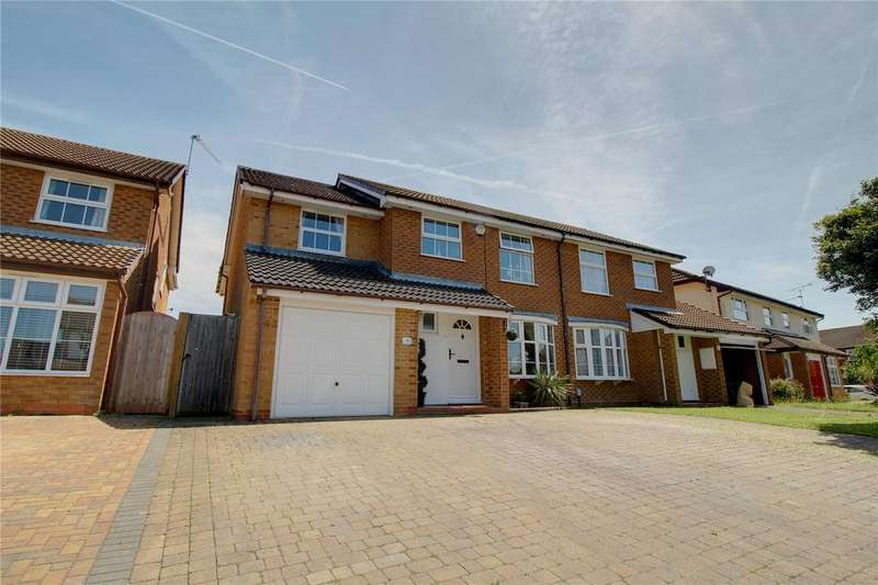 5 Bedrooms Semi Detached House for sale in Nimrod Close, Woodley, Reading, Berkshire, RG5