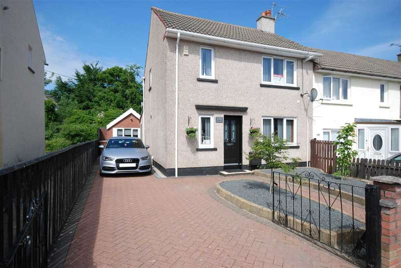 2 Bedrooms Semi Detached House for sale in St Margarets Avenue, Dalry