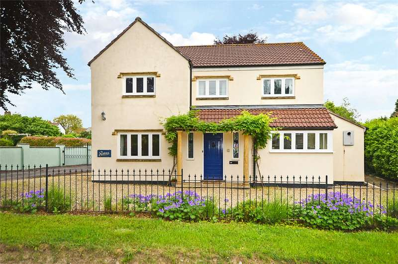 4 Bedrooms Detached House for sale in Stoney Lane, Curry Rivel, Langport, Somerset, TA10