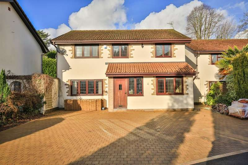 4 Bedrooms Detached House for sale in Longleat Close, Lisvane, Cardiff