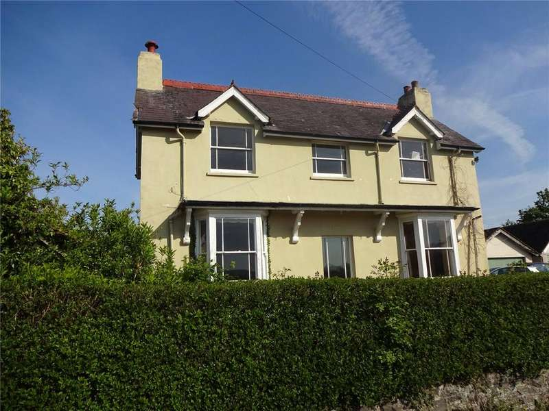 4 Bedrooms Detached House for sale in Weston Road, Bucknell, Shropshire