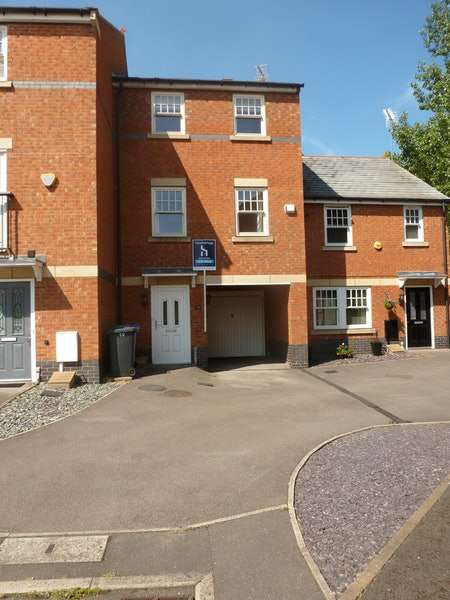 3 Bedrooms Terraced House for sale in Auriga Court, Derby, Derbyshire, DE1