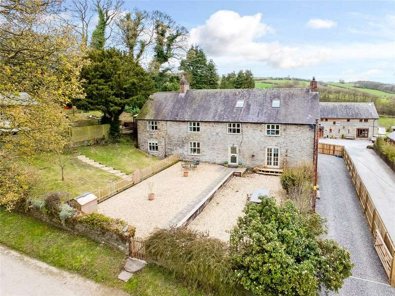 6 Bedrooms Detached House for sale in Upper Woodhouse, Rhos-y-Meirch, Knighton, Powys