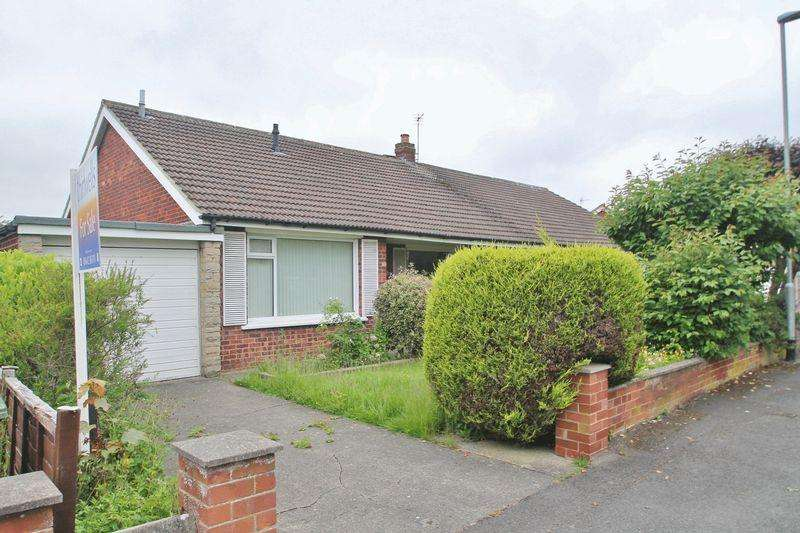2 Bedrooms Semi Detached Bungalow for sale in Green Vale Grove, Stockton-On-Tees