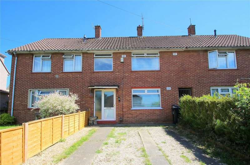 3 Bedrooms Terraced House for sale in Teyfant Road, Hartcliffe, BRISTOL, BS13