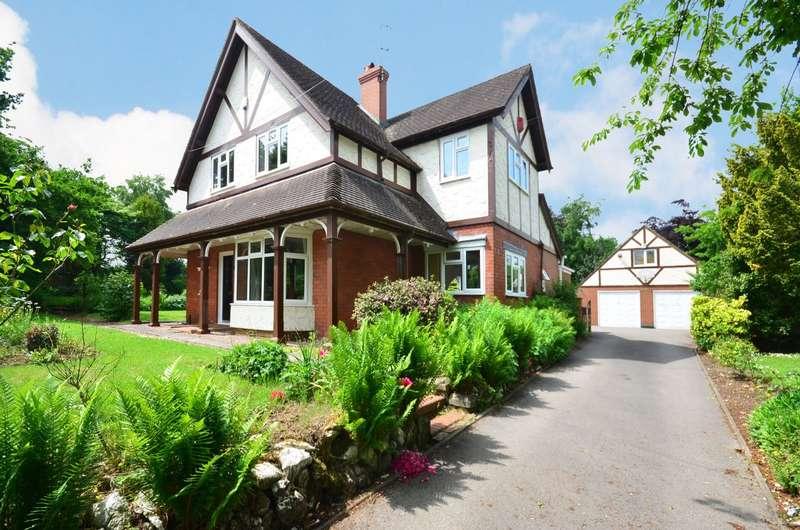 4 Bedrooms Detached House for sale in Stallington Road, Blythe Bridge, ST11 9PA