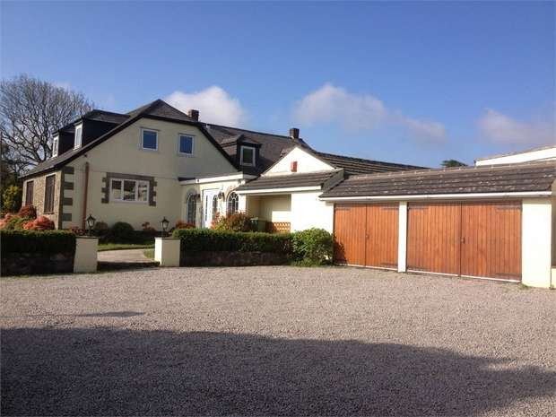 5 Bedrooms Detached House for sale in Porkellis, Helston, Cornwall