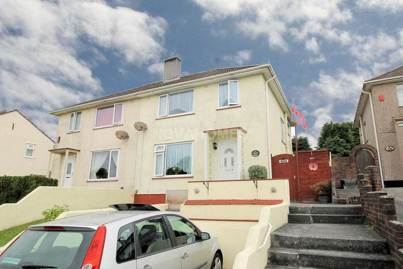 3 Bedrooms Semi Detached House for sale in Budshead Road, Plymouth, PL5 4DJ