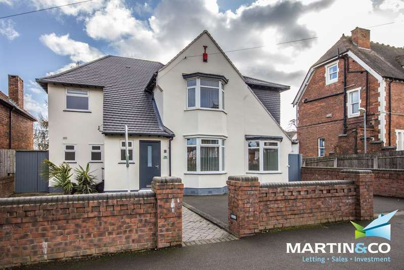 4 Bedrooms Detached House for sale in Park Hill Road, Harborne, B17