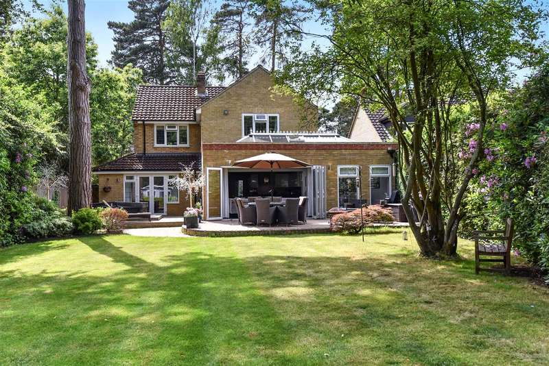 4 Bedrooms Detached House for sale in New Wokingham Road, Crowthorne