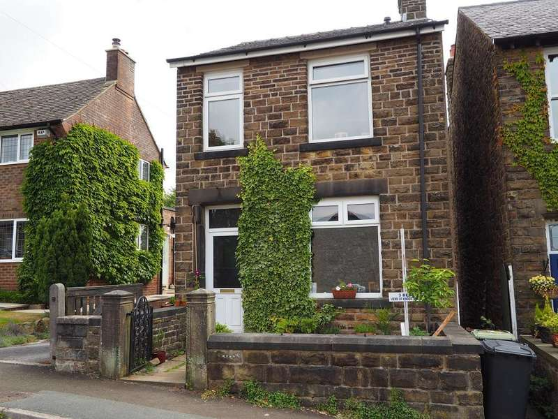 3 Bedrooms Detached House for sale in Longlands Road, New Mills, High Peak, Derbyshire, SK22 3BY