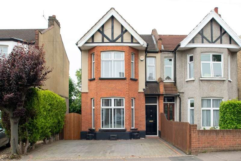 3 Bedrooms Semi Detached House for sale in Longlands Road, Sidcup, DA15