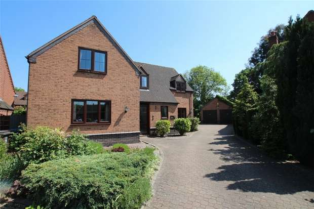 4 Bedrooms Detached House for sale in Willow Close, Fradley, Lichfield, Staffordshire
