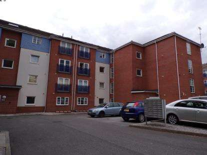 2 Bedrooms Flat for sale in Gilbert House, Old Coach Road, Runcorn, Cheshire, WA7