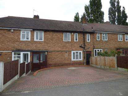 3 Bedrooms Terraced House for sale in Winchester Crescent, Chaddesden, Derby, Derbyshire