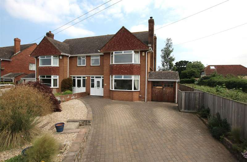 3 Bedrooms Semi Detached House for sale in Countess Wear Road, Exeter