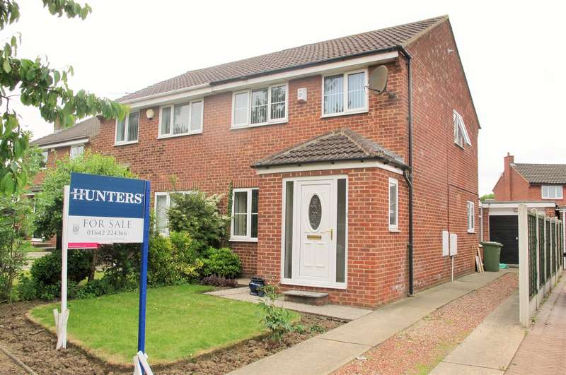 3 Bedrooms Semi Detached House for sale in Wimpole Road, Fairfield, Stockton-on-Tees, TS19 7LP