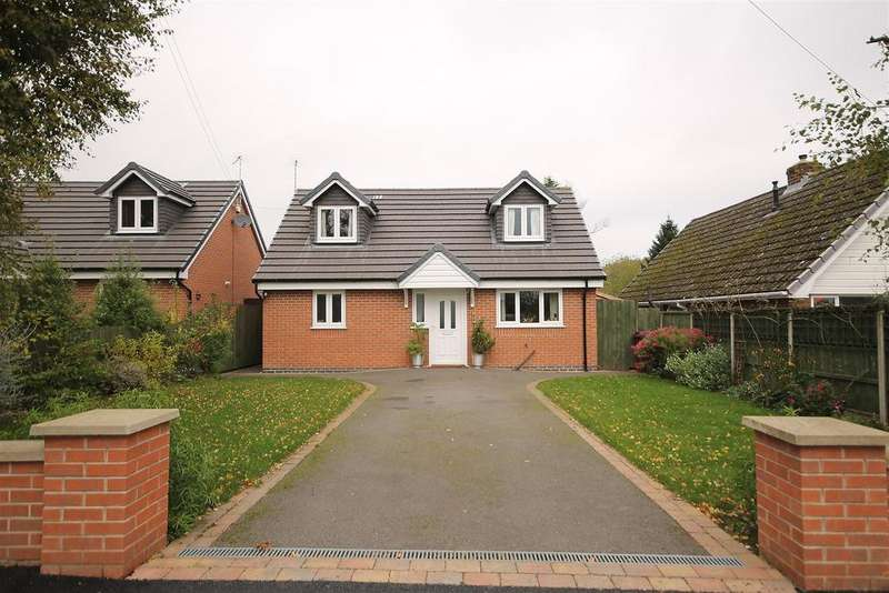 3 Bedrooms Detached Bungalow for sale in Harewood Crescent, Old Tupton, Chesterfield