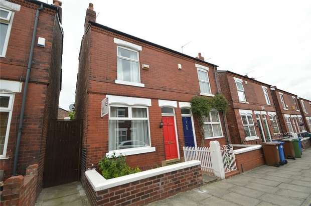 2 Bedrooms Semi Detached House for sale in Regent Road, Heaviley, Stockport, Cheshire