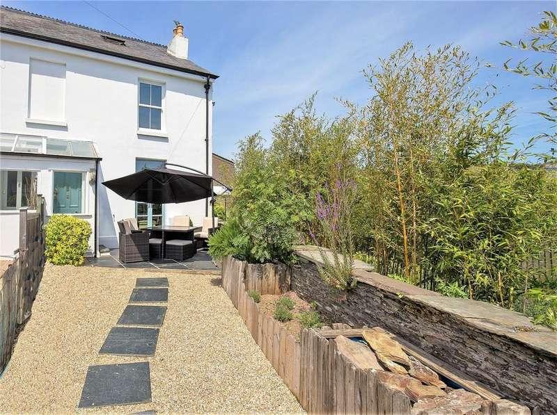 3 Bedrooms End Of Terrace House for sale in Richmond Terrace, Duncombe Street, Kingsbridge, Devon, TQ7