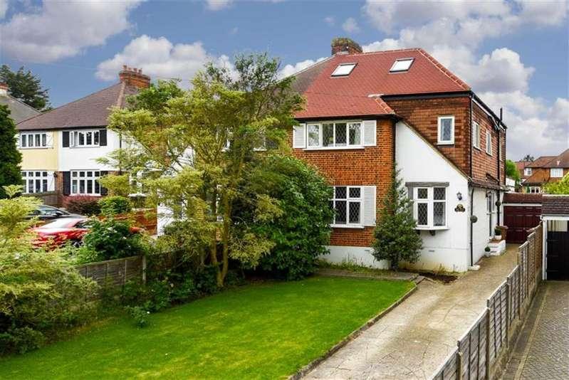 5 Bedrooms Semi Detached House for sale in Oaks Avenue, Worcester Park, Surrey