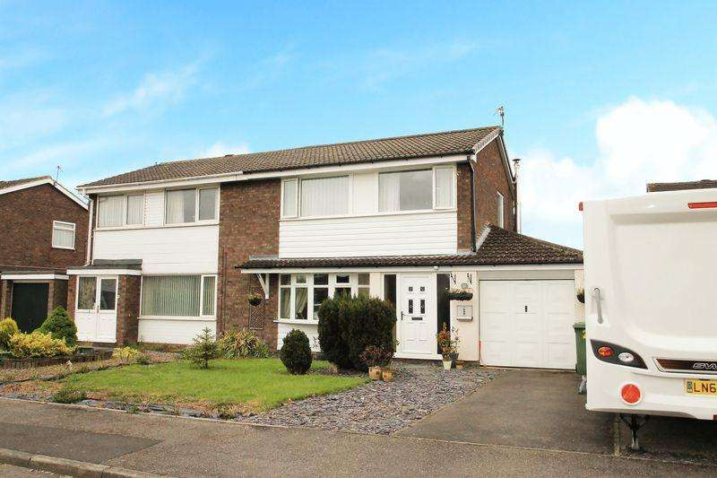 3 Bedrooms Semi Detached House for sale in Roundhay Drive Eaglescliffe TS16 9HW
