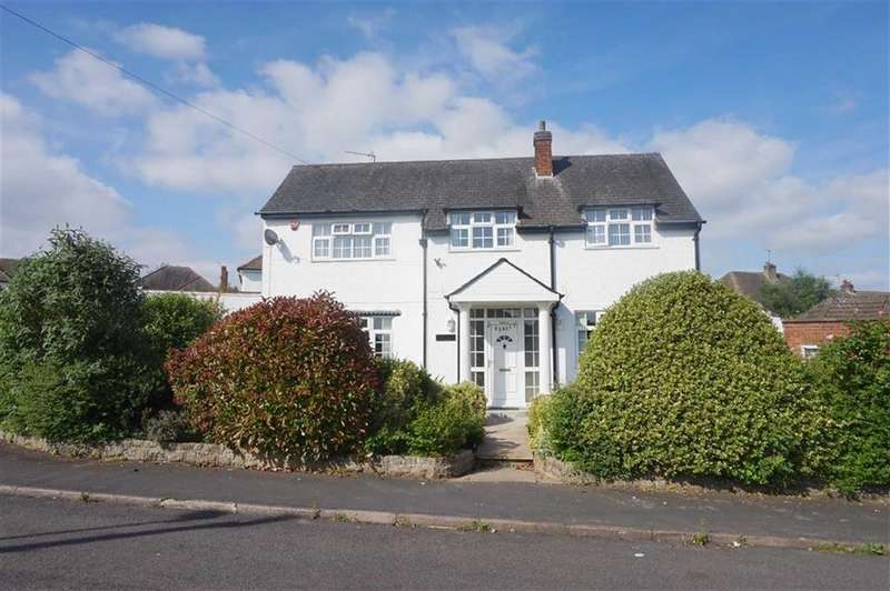 4 Bedrooms Detached House for sale in Wayside Drive, Oadby, Leicester
