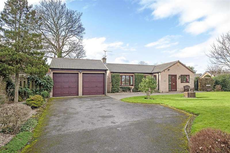 3 Bedrooms Detached Bungalow for sale in Park Hall Gardens, Walton, Chesterfield