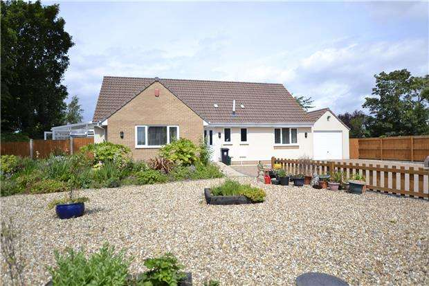 4 Bedrooms Detached Bungalow for sale in Gorse Cover Road, Bristol, BS35 4NP