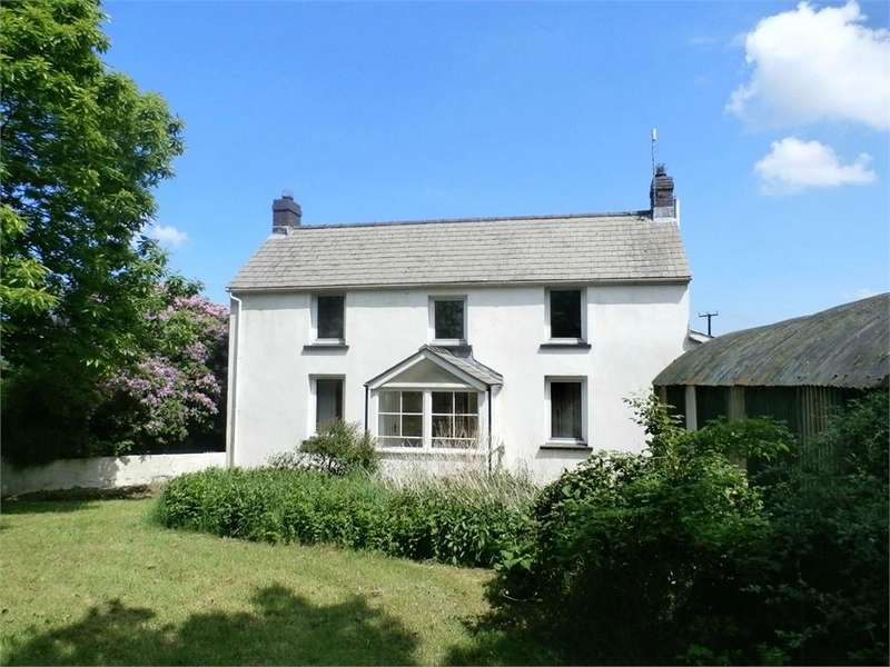 4 Bedrooms Farm House Character Property for sale in Mount Pleasant, Penffordd, Clynderwen, Pembrokeshire